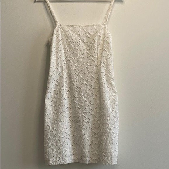 Mini white dress
